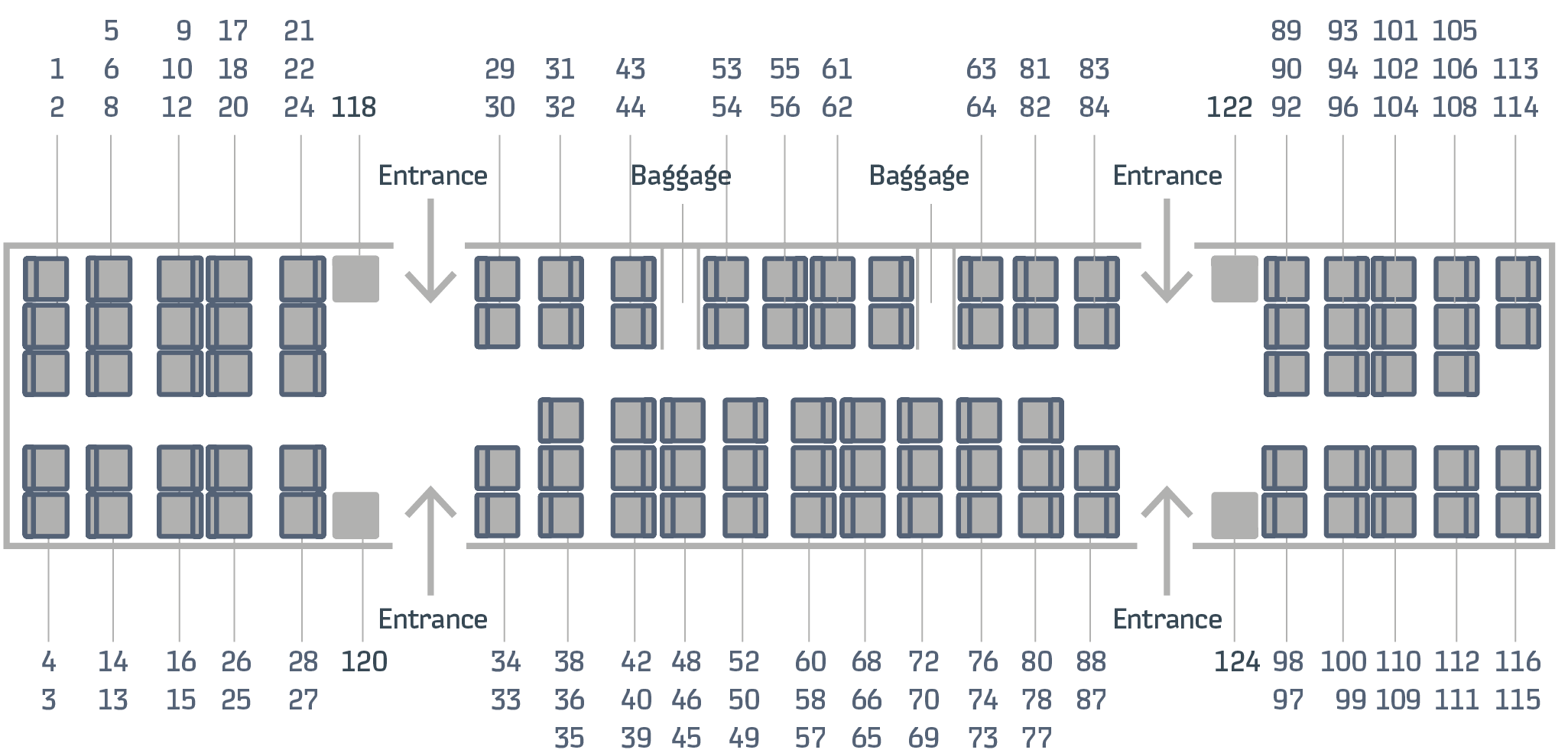 Lastochka carriage's scheme